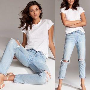 Aritzia Denim Forum The Ex Boyfriend Jeans